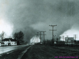 Twin Tornadoes on the ground